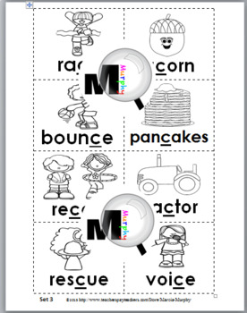 Hard and Soft C Sorting Activity & Worksheets & Posters – Set 2 - Hard C, Soft C