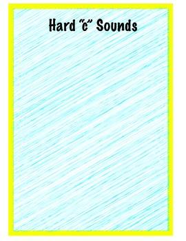 "Hard and Soft ""C"" Sound Sort"