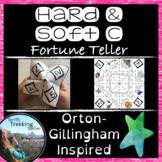 Hard and Soft C Spelling/Reading - Fortune Teller - Orton-