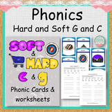 Phonics Hard and Soft G and C