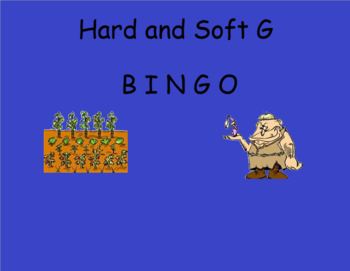 Hard and Soft C and G BINGO Games Smartboard