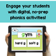 Hard and Soft C and G - Digital Phonics Activities | BOOM Cards™