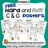 Hard and Soft C and G - Free Posters