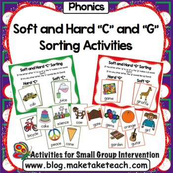 "Hard and Soft ""C"" and ""G"" Sorting Activity"