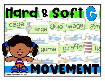 Hard and Soft G - Movement Interactive Game