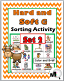 Hard and Soft G Sorting plus Worksheets & Posters – Set 2 - Hard G & Soft G