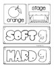 Hard and Soft G Task Cards