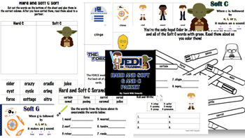 Star Wars Hard and Soft G and C Packet