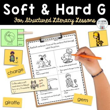Soft and Hard G for Reading and Spelling