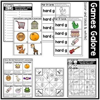 Hard and Soft c and g: Harper Explains All About Hard and Soft c and g