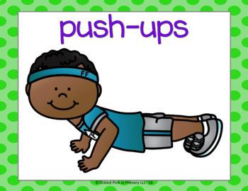 Hard and Soft c g Fluency & Fitness Brain Breaks