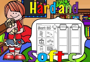 Hard and soft c Activities set 1(50% off for 48 hours)