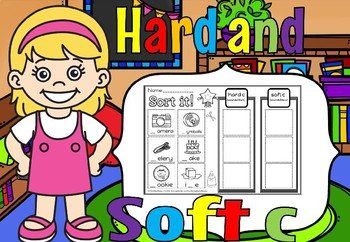 Hard and soft c Activities set 2(50% off for 48 hours)