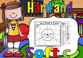 Hard and soft c Activities set 3(50% off for 48 hours)