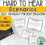 Hard to Hear Scenarios: Deaf Education