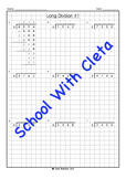 Hard Long Division Place Value Worksheets (4 Digit Dividends & 6 As The Divisor)