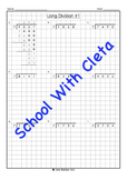 Hard Long Division Place Value Worksheets (4 Digit Dividends & 7 As The Divisor)