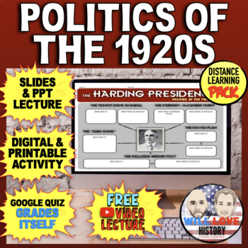 Harding and Coolidge: Politics of the Twenties Bundle