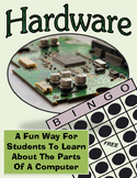 Hardware Computer Technology Bingo Game, Teaching Digital Anatomy
