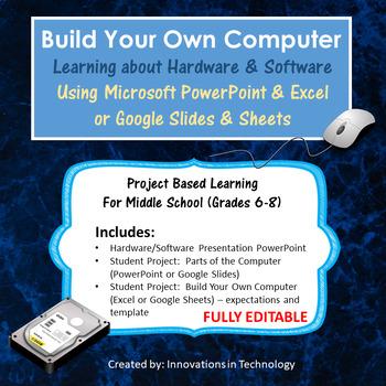 Computer Hardware & Software - Build a Computer