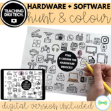 Hardware Software Identify & Colour In Activity - ACTDIK001