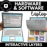 Build a Hardware & Software Interactive Flap Paper Laptop