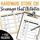 Hardware Store Scavenger Hunt with Visuals - Life Skills Shopping CBI