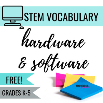 Hardware and Software Vocabulary
