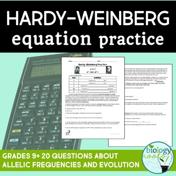 Hardy Weinberg Practice Problems