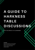 Harkness Table Discussions - getting started!
