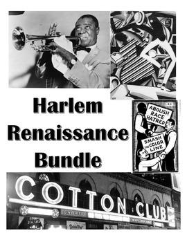 Harlem Renaissance Bundle-Unit Worksheets
