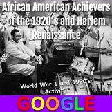 Interactive Gallery: African American Achievers and Harlem