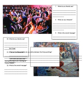 Harlem Renaissance- Art and Music by Ms Remingtons English ...