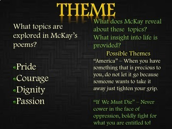 poem africa by claude mckay analysis