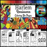 Harlem Renaissance Coloring Sheets for Research