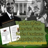 Harlem Renaissance Comparison Project: Modern African American Voices