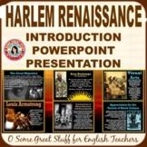 Harlem Renaissance Dynamic Powerpoint--Black History