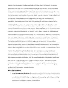 Harlem Renaissance GATE Ela Unit: Literature, Art, and Music