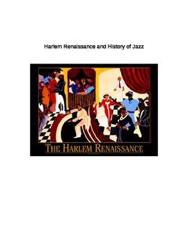Harlem Renaissance History of Jazz