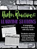 Harlem Renaissance Introduction Learning Stations -- Perfe