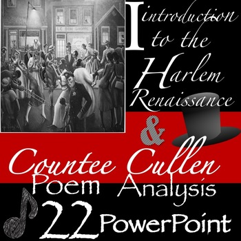 Harlem Renaissance Introductory & Web Quest Activity