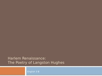 Harlem Renaissance & Langston Hughes PPT from Prentice Hall American Experience