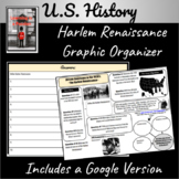 Harlem Renaissance: Life in the 1920's Graphic Organizer