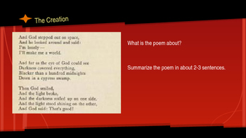 Harlem Renaissance Poetry Activities - 20 Poems with 7 Writing Prompts Each!