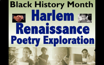 Harlem Renaissance Poetry Exploration - Great Black History or Anytime Activity