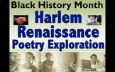 Harlem Renaissance Poetry Exploration - for Black History Month or Any Month