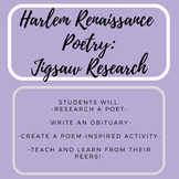 Harlem Renaissance Poets - Jigsaw Research