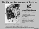 [Social Studies] Harlem Renaissance,  PPT Presentation