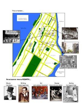 Harlem Renaissance Project by tross86 | Teachers Pay Teachers