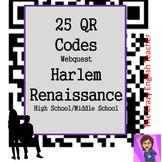 Harlem Renaissance : QR Codes Webquest 25 Websites